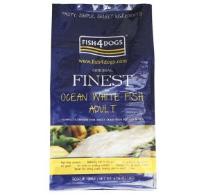 Fish4Dogs Finest Ocean White Fish Adult Medium 6kg