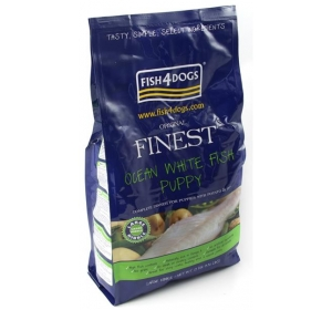 Fish4Dogs Finest Ocean White Fish Puppy Large 1,5kg