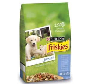 Friskies dog dry Junior 15 kg