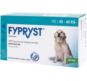 Fypryst spot-on dog L sol 3x2,68 ml Výprodej expirace 3/2017
