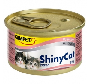 Gimpet Shiny cat konz. Kitten - kuře 70 g