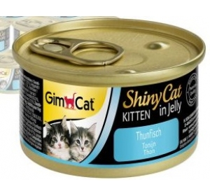 Gimpet Shiny cat konz. Kitten - tuňák 70 g