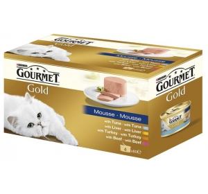 Gourmet Gold cat konz.- Multipack paštika 4 x 85 g