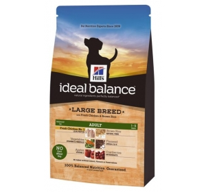 Hill's Canine Ideal Balance Adult Chicken&Brown Rice Large Breed 12 kg