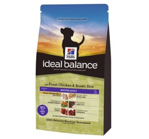 Hill's Canine Ideal balance Mature Chicken&Brown Rice 12 kg