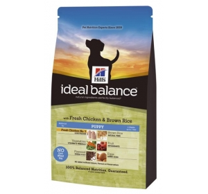 Hill's Canine Ideal Balance Puppy Chicken&Brown Rice 12 kg