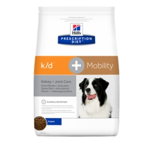 Hill's Canine K/D + Mobility Dry 12 kg