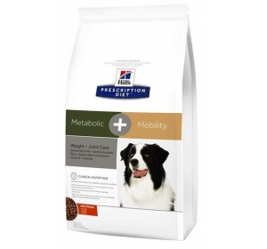 Hill's Canine Metabolic + Mobility Dry 4 kg