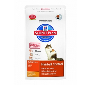 Hill's Feline Adult Hairball control 300 g