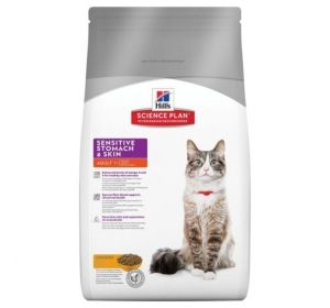 Hill's Feline Adult Sensitive Stomach Skin 1,5 kg