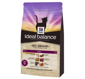 Hill's Feline Ideal Balance Adult Chicken&Potato No Grain 2 kg