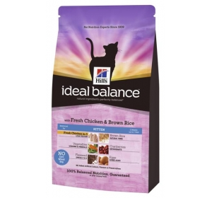 Hill's Feline Ideal Balance Kitten Chicken&Brown Rice 2 kg