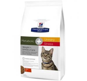 Hill's Feline Metabolic + Urinary Stress Dry 4 kg