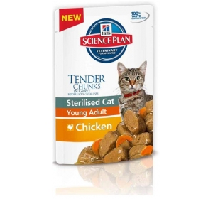 Hill's Feline Sterilised kaps. Chicken 85 g