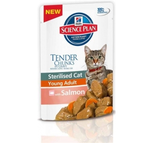 Hill's Feline Sterilised kaps. Salmon 85 g