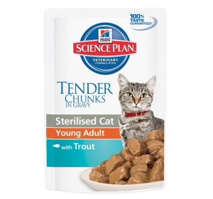 Hill's Feline Sterilised kaps.Trout 85 g
