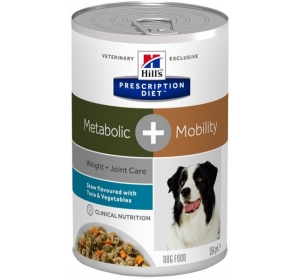 Hill's PD Canine Stew Metabolic Plus Mobility with Tuna & Vegetables konzerva 354 g