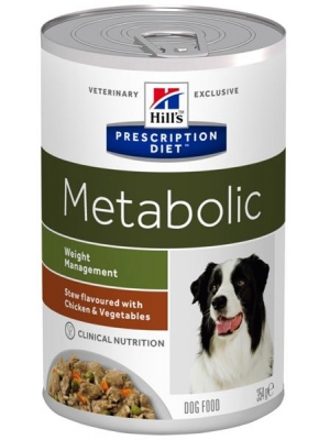 Hill's PD Canine Stew Metabolic with Chicken & Vegetables konzerva 354 gg