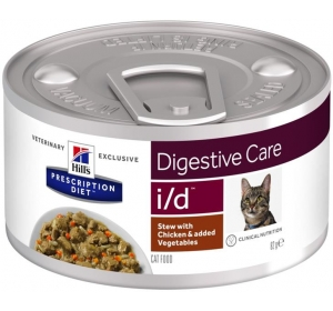 Hill's PD Feline Stew i/d with Chicken, Rice & Vegetables konzerva 82 g