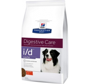 Hill's Canine I/D Dry Low Fat 12kg