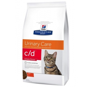 Hill's Feline C/D Dry Urinary Stress 4kg