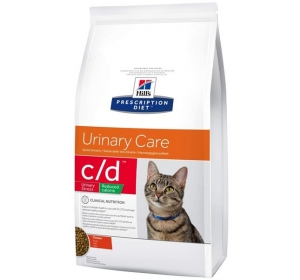 Hill's Feline C/D Dry Urinary Stress Reduced Calorie 8kg