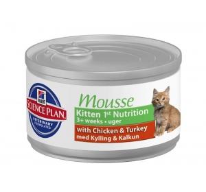 Hill's Feline Kitten Mousse konz. 85 g