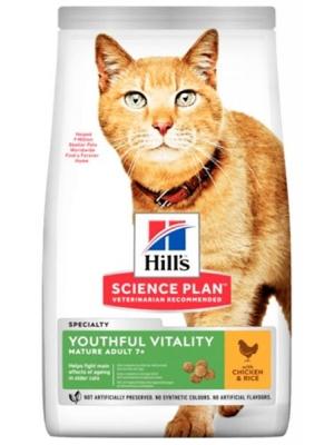 Hill's Science Plan Feline Adult 7+ Youthful Vitality Chicken 0,3 kg