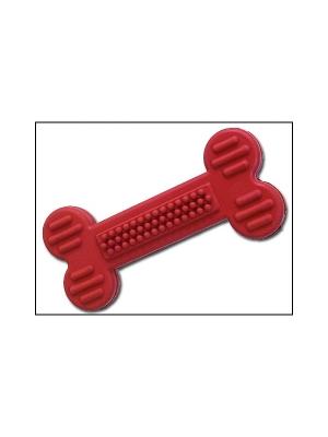 Hračka DOG FANTASY gumová kost oranžová