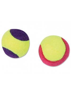 Hračka FLAMINGO míč tenisový (2ks)