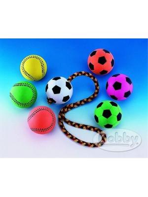 Hračka guma Nobby Míč fotbalový Neon