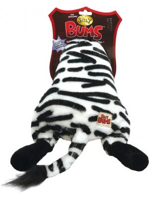 Hračka plyš prdelka Zebra RW 21 cm