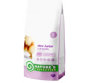 Nature's Protection Dog Dry Junior Mini 2 kg