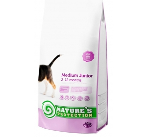 Nature's Protection Dog Dry Junior Medium 2 kg