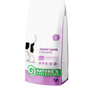 Nature's Protection Dog Dry Junior Lamb 500 g