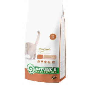 Nature's Protection Cat Dry Neutered 2 kg