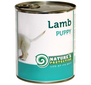 Nature's Protection Dog konzerva Puppy Lamb 800 g