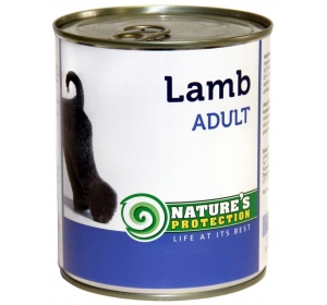 Nature's Protection Dog konzerva Adult Lamb 800 g