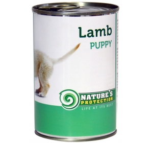 Nature's Protection Dog konzerva Puppy Lamb 400 g