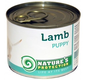 Nature's Protection Dog konzerva Puppy Lamb 200 g