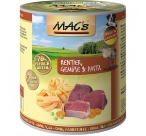 Konz. MACS Dog Sob, Zelenina a těstoviny 400g