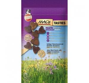 MACs Dog Tasties Srdíčka 60g