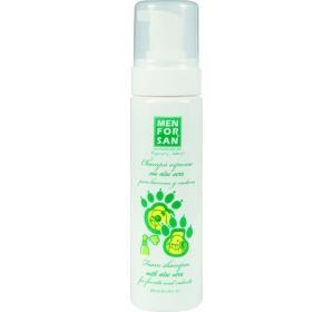 Menforsan pěnový šampon s Aloe vera pro fretky a hlodavce 200 ml
