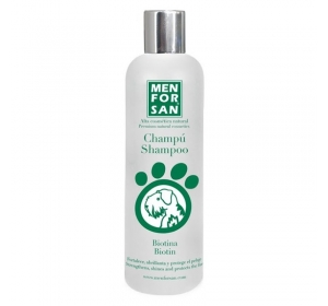Menforsan Přírodní šampon s biotinem 300ml