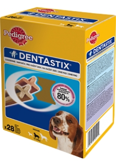 Pedigree Denta Stix Medium 28ks 720g