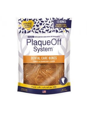 PlaqueOff Dental Bones zeleninové krůtí 482g