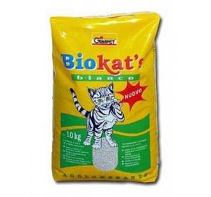 Podestýlka Cat Gimpet - Biokat's Bianco 10 kg