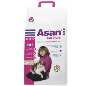 Podestýlka cat Asan - Pure 10 l