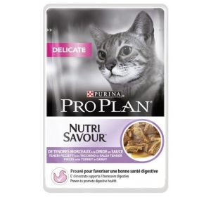 PRO PLAN Cat kaps. Delicate Turkey 85 g