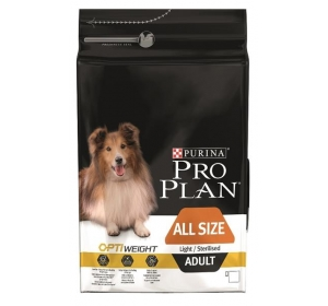 Purina PRO PLAN Dog Adult ALL SIZE Light/Sterilised 3 kg